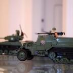 Pojazdy militarne z klocków
