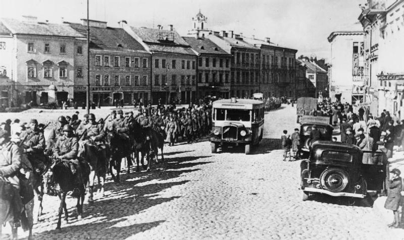 Kawaleria sowiecka 1939