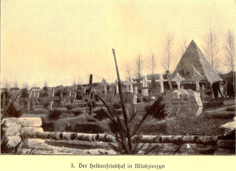 Mlodzieszyn cmentarz acrh