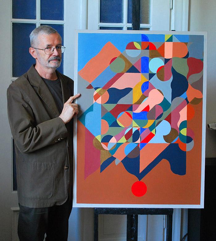 Profesor Marek Dzienkiewicz wystawa