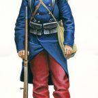 Od czerwonych portek do błękitnego munduru….